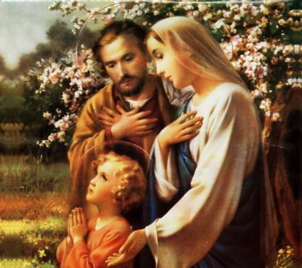 Terço pedindo Bençãos sobre a nossa família.