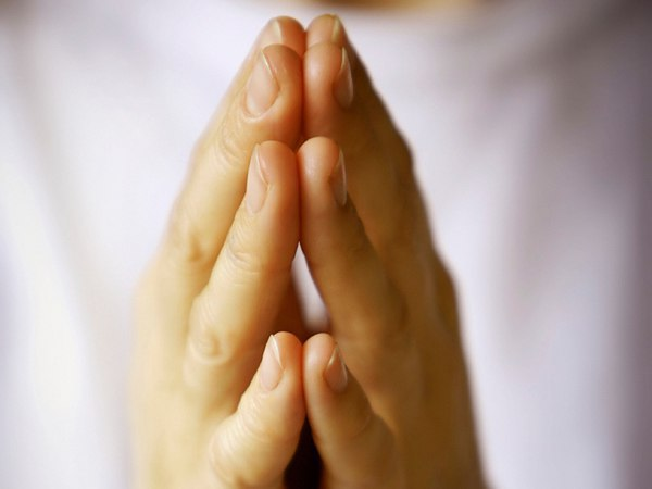 Terço pedindo paz