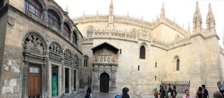 Capela Real, que integra o complexo da Catedral de la Encarnacion