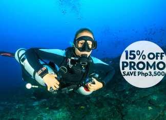 PADI Sidemount diving course