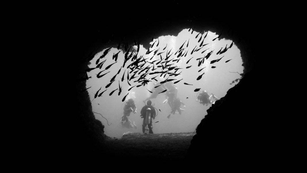 dilumacad underwater tunnel el nido dive site