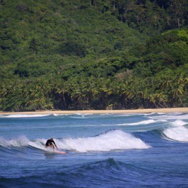 surfing duli beach el nido