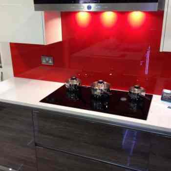 GLASS splashback London