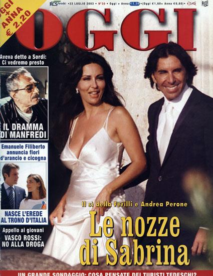 Sabrina Ferilli Rompe Con Andrea Perone Per Colpa Di Un Rapporto Extraconiugale Palcoscenico