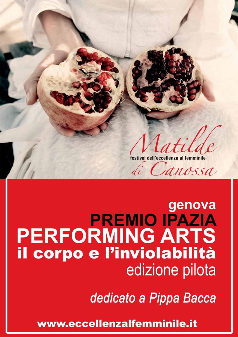 Premio Ipazia Performing Arts – Proroga scadenza bando al 15 settembre 2020
