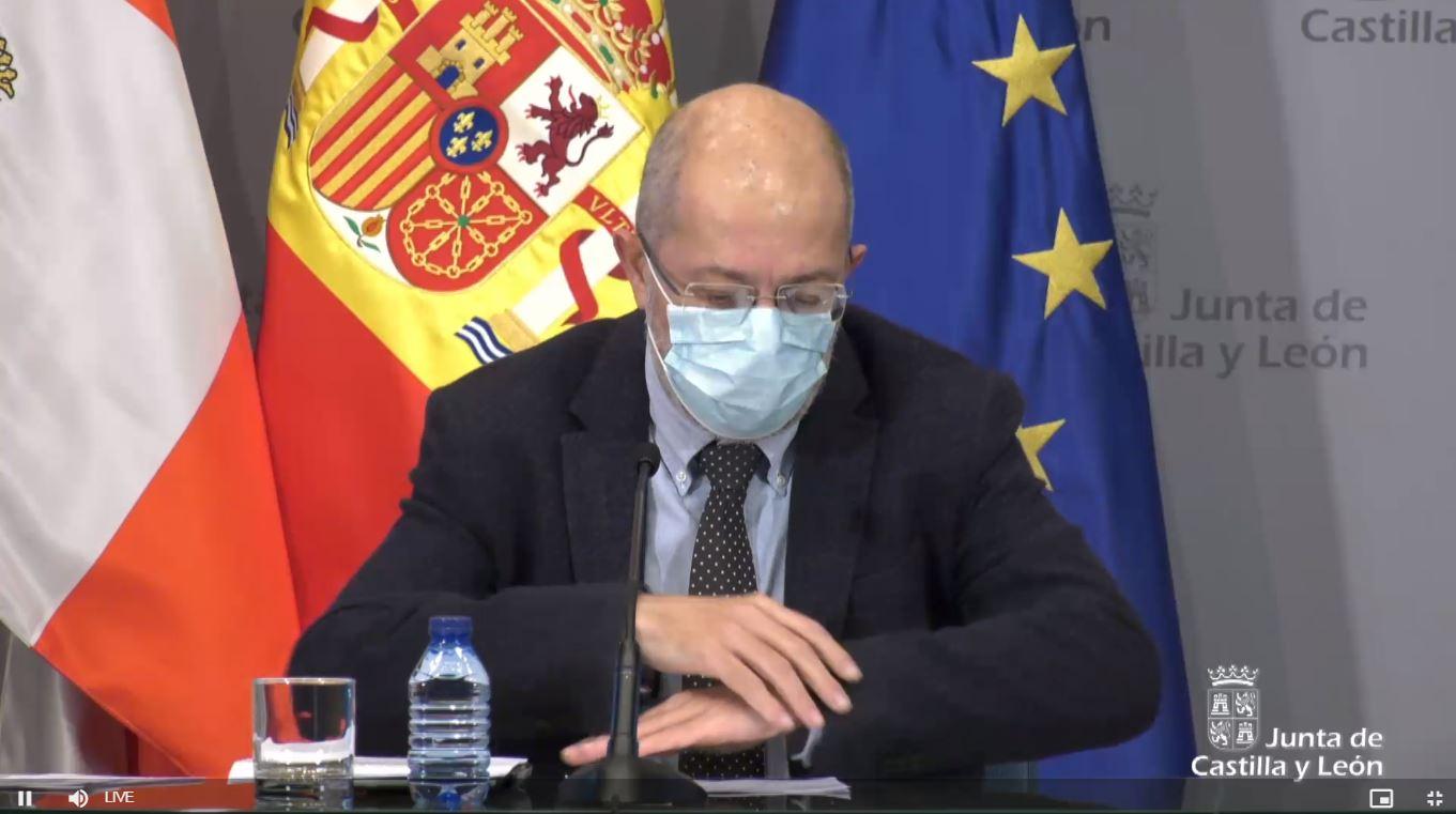 Francisco Igea comparece para anunciar nuevas medidas en Palencia