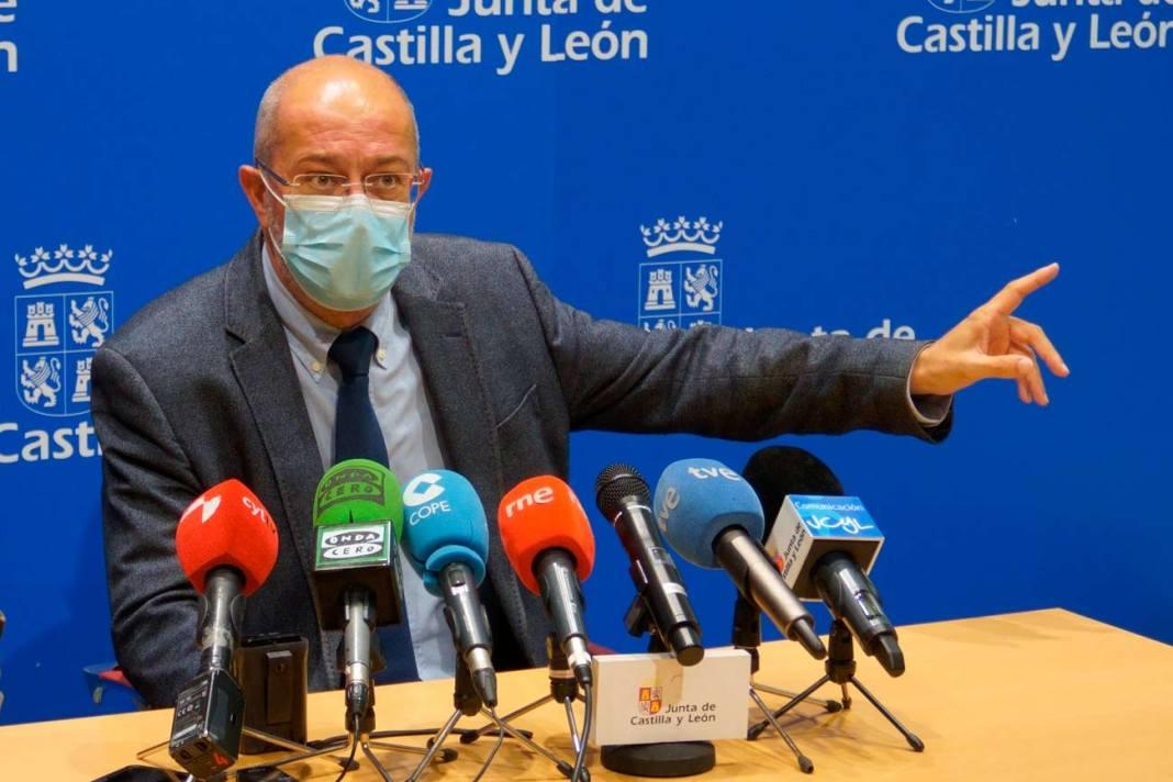 Francisco Igea en Palencia