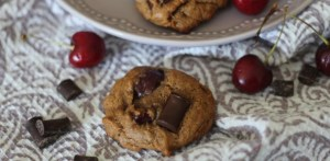 Cherry Chocolate Chips Cookies