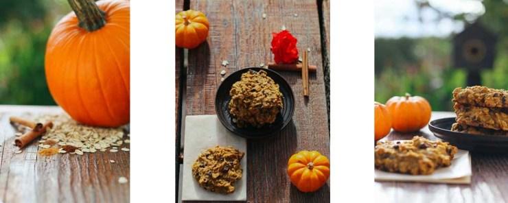 Paleo-ish Pumpkin Breakfast Cookies