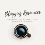 Resources for Bloggers: Everything I Use and Love