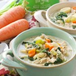 Chicken Gnocchi Soup: Paleo & Easy! + Recipe Video!