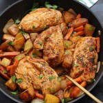 Creamy Paprika Chicken and Veggies: Paleo One Pot Recipe