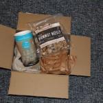 Das geöffnete Paket