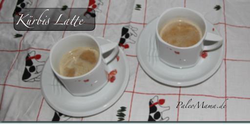 "Rezept aus meinem Buch ""Das Paleo Backbuch"": Kürbis Latte, Kürbis Kaffee, (laktosefrei)"