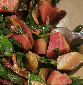 Beets with Bacon