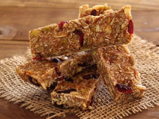 Nutty Pumpkin-Spiced Paleo Energy Bars