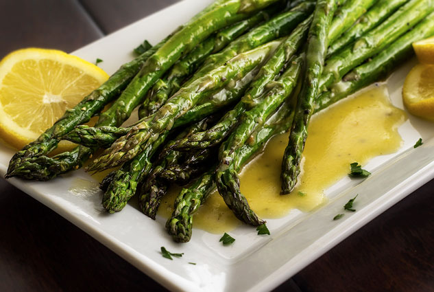 ... vinaigrette whole30 compliant roasted asparagus with lemon vinaigrette