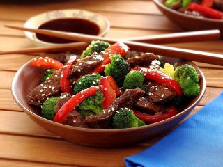 Paleo Teriyaki Beef Broccoli