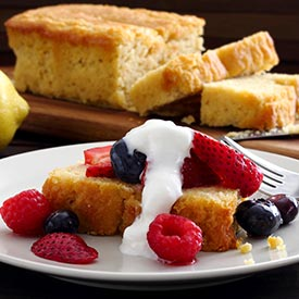 Gluten-Free Lemon Pound Cake Recipe