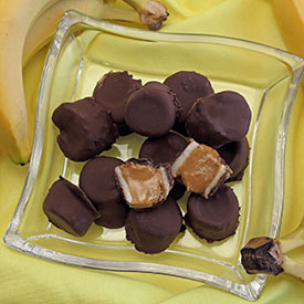 3-Ingredient Chocolate Nutter Nanner Bites Recipe