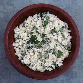 Paleo Cilantro Lime Cauliflower Rice Recipe