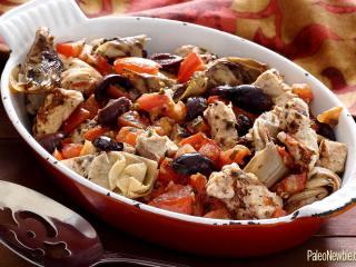 Paleo Bruschetta Chicken