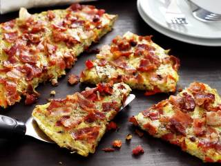 "Potato & Bacon Paleo Breakfast ""Pancake"""