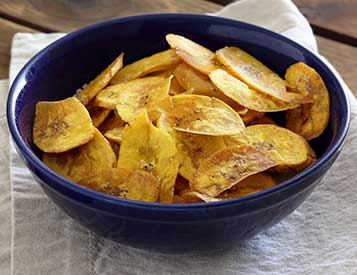 Paleo Plantain Chips Recipe