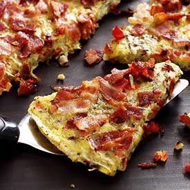 "Paleo Potato & Bacon ""Pancake"" Recipe"