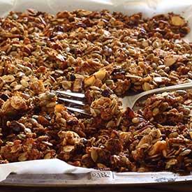 PaleoNewbie.com recipe for Paleo Granola