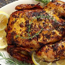 paleonewbie.com lemon herb roasted chicken paleo recipe
