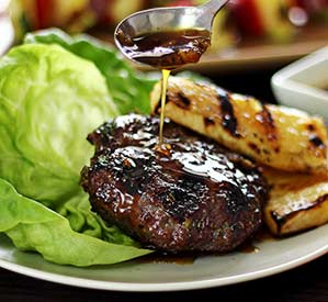 Simple Paleo Teriyaki Burgers