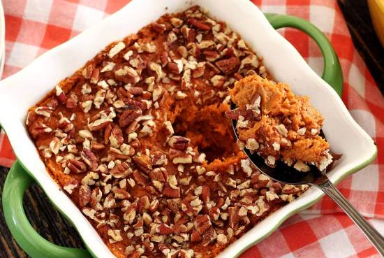 easy paleo recipe for sweet potato casserole
