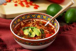 Easy paleo recipe for tortilla soup