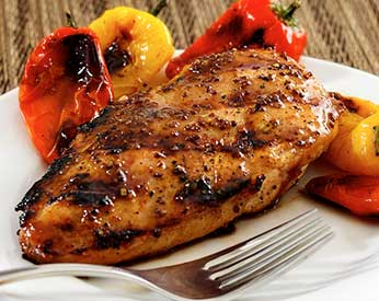 Maple and Mustard Glazed Chicken Recipe