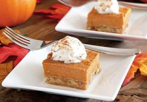 paleo recipe for pumpkin pie bars