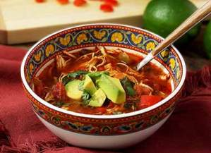 easy paleo recipe for slow-cooker tortilla soup