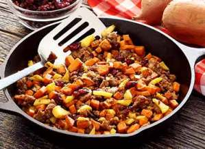 easy paleo recipe for a holiday hash