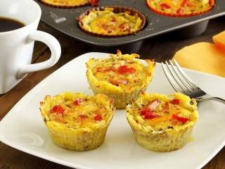 Paleo Sweet Potato Egg Cups