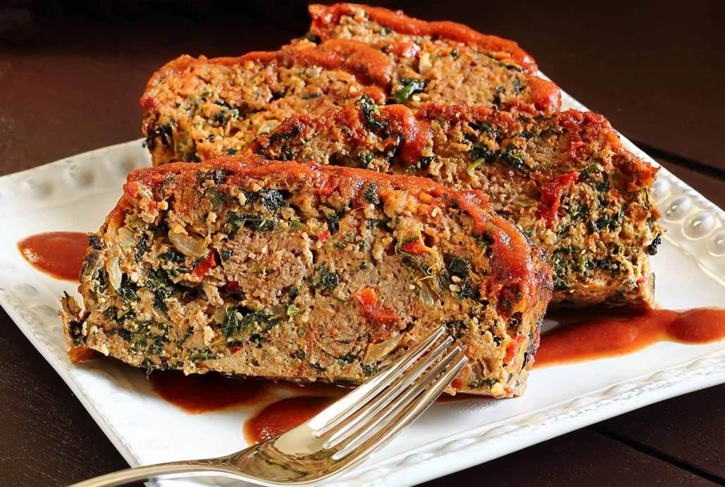 Turkey Meatloaf Good Food