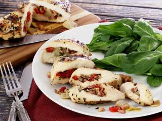 Paleo Pancetta-Stuffed Chicken Breast