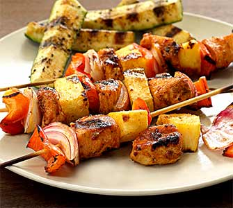 easy paleo recipe for chipotle-lime chicken kabobs