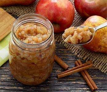 Chunky Paleo Cinnamon Apple Pear Sauce