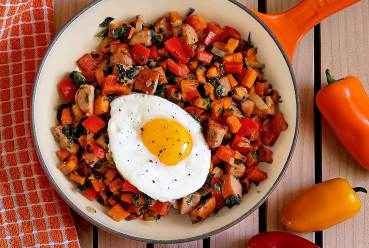 simple paleo recipe for kitchen sink breakfast hash