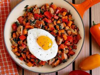 "Paleo ""Kitchen Sink"" Breakfast Hash"