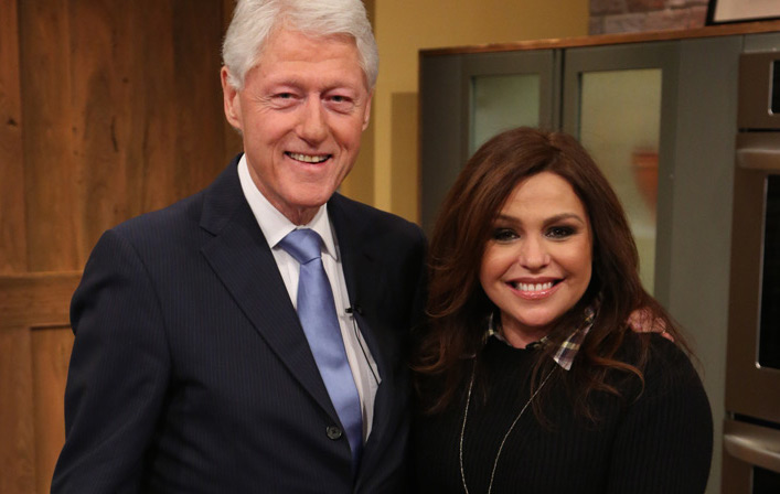 President Bill Clinton & Rachael Ray