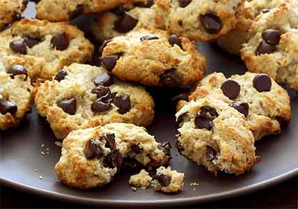Paleo Macadamia-Coconut Chocolate Chip Cookies Recipe