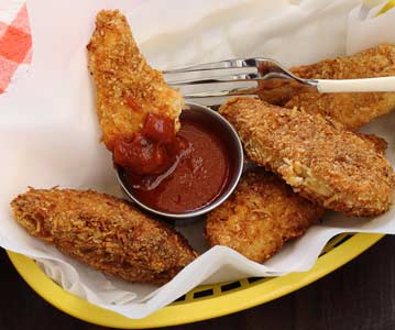 Paleo Fried Chicken Strips Recipe