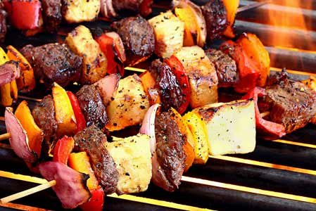 Paleo Teriyaki Beef Shish Kabobs Recipe