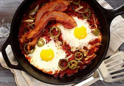Lazy Man's Southwest Breakfast